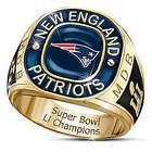 New England Patriots Super Bowl LI Champions Personalized Ring