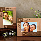 Personalized Our First... Wooden Picture Frame