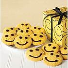 Smiley Face Butter Cookies in Gift Box