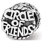 Sterling Silver Circle of Friends Bead