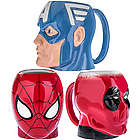 Marvel Comics Molded Ceramic Mug
