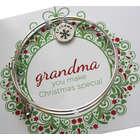 Personalized Grandma Christmas Bracelet