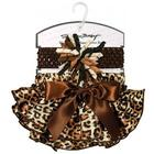 Baby Girl's Cheetah Print Diaper Cover