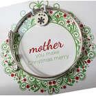 Personalized Christmas Mother Bangle Bracelet
