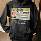 Personalized Driver's License Birthday Sweatshirt