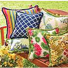 "Fringe 15"" Outdoor Throw Pillow"