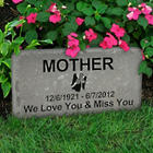 Bluestone Custom Engraved Medium Memorial Stone