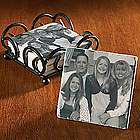 Personalized Tile Color Photo Coasters