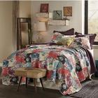 Jewel Printed Patch Twin Quilt