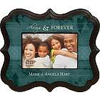 "Personalized Always & Forever 4"" x 6"" Picture Frame"