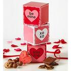 Conversation Hearts Valentine Sweets Gift Tower