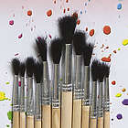 Wooden Paint Brushes