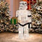 Star Wars Tinsel Storm Trooper Christmas Yard Decoration