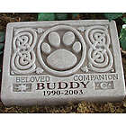 Personalized Celtic Pet Stone