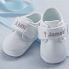Personalized Christening Shoes for Boys