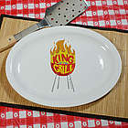 Personalized King of the Grill Platter