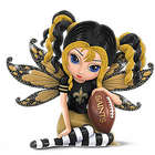 Little Bit of Magic New Orleans Saints Fairy Figurine