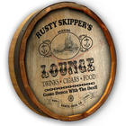 Personalized Lounge Quarter Barrel Sign
