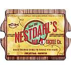 Personalized Bait and Tackle Vintage Pub Sign
