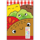 Cheeseburger Nested Stationary Notepad
