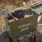 Special Ops Custom Engraved Ammo Box Groomsmen Gift Set