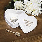 Granddaughter Heart Shaped Keepsake Box