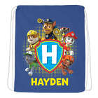 Personalized Paw Patrol Pawsome Sports Drawstring Tote