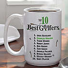 Large Golf Coffee Mug