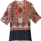 Xena Medallion Tunic Top