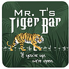 Personalized Tiger Bar Drink Coaster Set