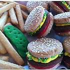 Hamburgers and Fries Sugar Cookie Crisp Assortment