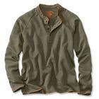 Men's Henley Sweatshirt