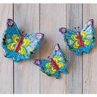 Talavera Ceramic Butterflies Set