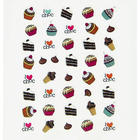 Chocolate Scented Scratch and Sniff Nail Stickers