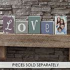 "Personalized Letter 5"" Square Shelf Block"
