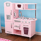 Kid's Pink Personalized Kitchen Playset