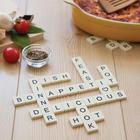 Letter Tiles Silicone Trivet