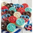 10 Red, White, and Blue Pretzels & 10 Patriotic Cookies