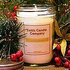 Nollaig Shona Christmas Candle