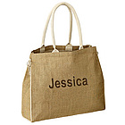 Eco Friendly Beach Jute Tote Handbag