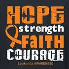 Personalized Leukemia Awareness Long Sleeve Shirt