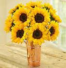 Sunflower Bouquet in Copper Vase