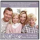 Heartfelt Family Photo Personalized Wall Art