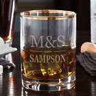Personalized Brighton Gold Rimmed Tumbler Glass