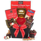 Valentine's Day Chocolate and Cookies Gift Basket