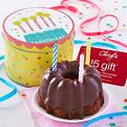 New Birthday Gracelet Greeting Chocolate Cake