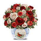 Messenger From Heaven Lighted Remembrance Centerpiece