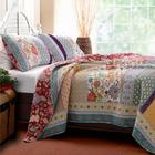 Provence Garden Twin Size Quilt Set