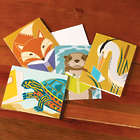 Reading Animals Note Cards