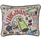 Embroidered University of Virginia Pillow